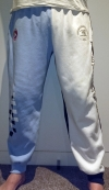 Club Trackies - White/Blue